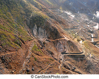 mineral mining area