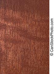 Natural Mohagony veneer detail