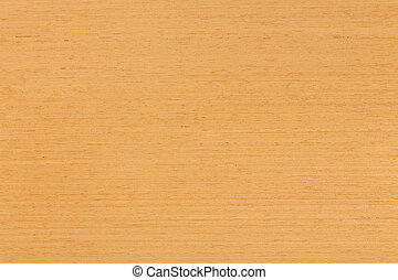 Natural oak veneer background on macro.