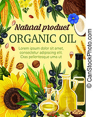 Natural oil from seeds and nuts - Natural cooking oil from ...