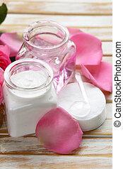 Natural organic cosmetics cream
