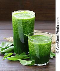 natural organic smoothie