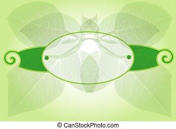 Natural organic template