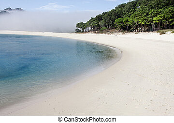 natural, parque,  Galicia, islas,  cies, españa