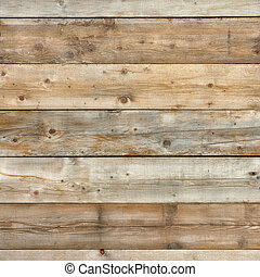 Natural pine wood wall background surface square