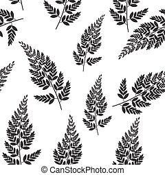 natural, primavera, resumen, seamless, leaves., pauta fondo