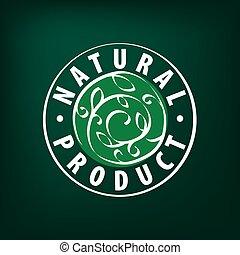 Natural product logo