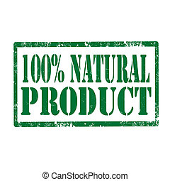 Natural Product-stamp
