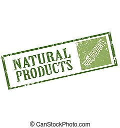 Natural Products-stamp