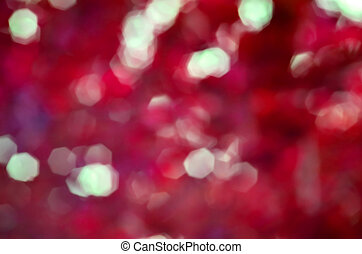 Natural red blurred background
