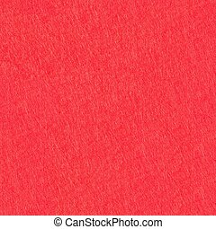 Natural red felt background. Seamless square texture, tile ready