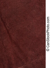 natural red leather back background