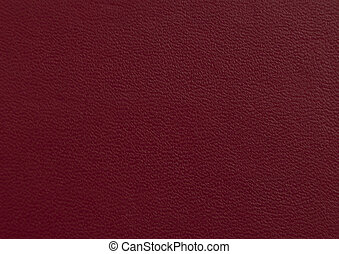 natural red leather background.