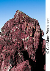 Natural Red Rock