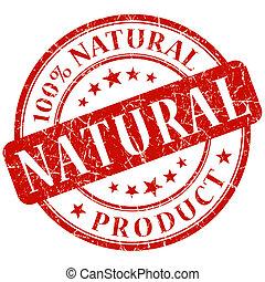 Natural red Stamp
