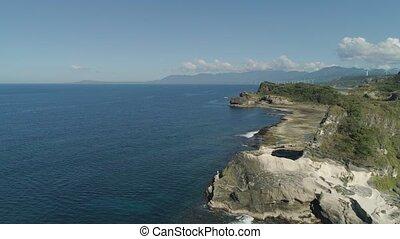 Kapurpurawan Rock Formation in Ilocos Norte Philippines -...