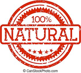 natural rubber stamp