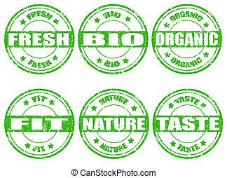 natural, selos, jogo, verde