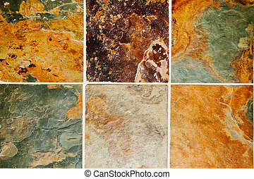slate - natural slate stone flooring tile abstract...