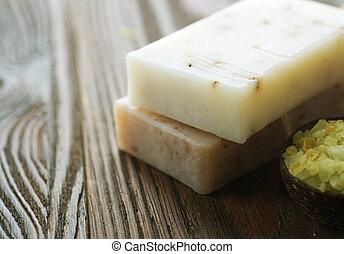 natural, soap., spa