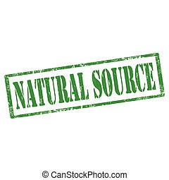 Natural Source-stamp