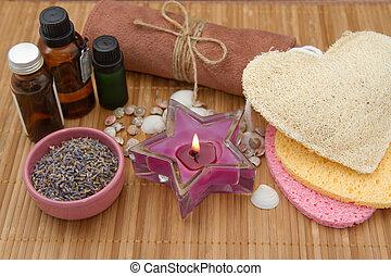 Natural Spa bath cosmetics