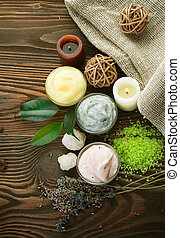 natural, spa, cosméticos