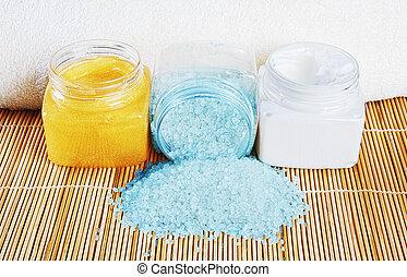 Natural spa cosmetics