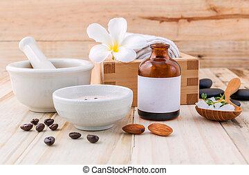 Natural Spa Ingredients sea salt ,coffee beans ,honey ,...