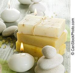 Natural Spa Treatments. Handmade Soap