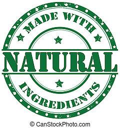 Natural-stamp