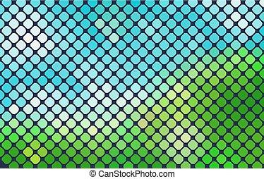 natural vector background horizontal mosaic