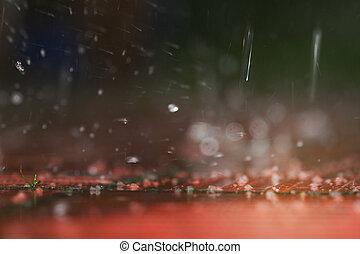 natural waterdrops
