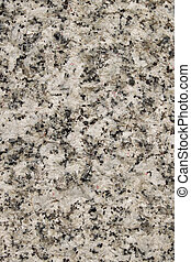 Natural white granite rough stone surface close up ...