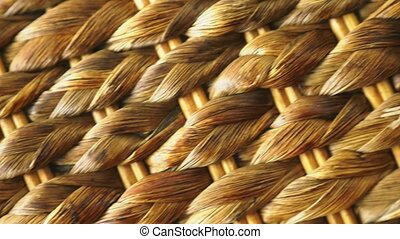 natural wicker texture, details, natural rattan. copy space.