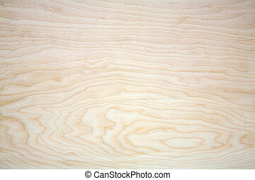 Natural wood texture on plywood