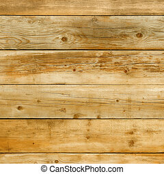 Natural yellow pine wood background square format