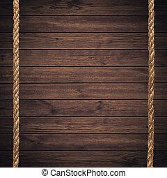 naturale, assi, struttura, legno, pino, fondo
