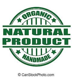naturale, francobollo, prodotto