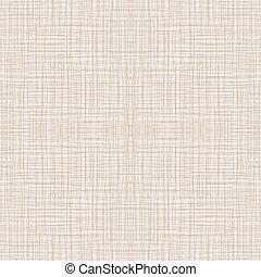 naturale, pattern., seamless, illustrazione, lino, vettore