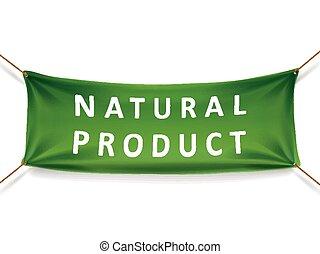 naturale, prodotto, bandiera