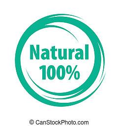 naturale, segno, di, qualità