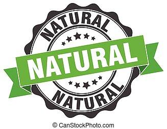 naturale, stamp., segno., sigillo