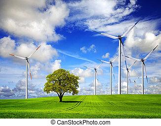 naturaleza, energía