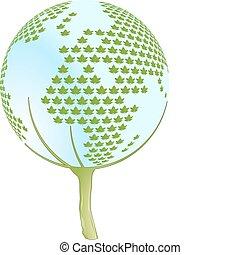 naturaleza, protección, y, paisaje