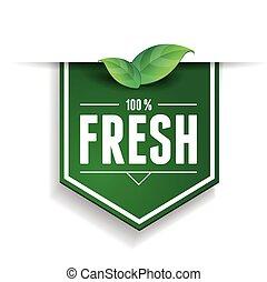 Nature - 100 percent fresh ribbon