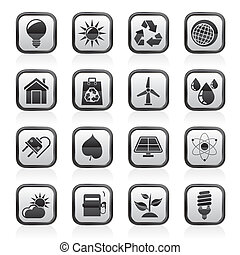 nature and environment Icons