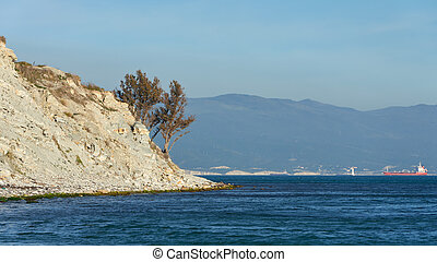 Nature and view of the Black Sea coast