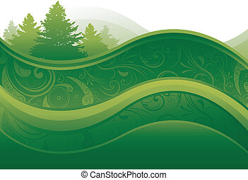 Nature background - abstract nature background