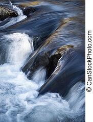 detail rapids on the river